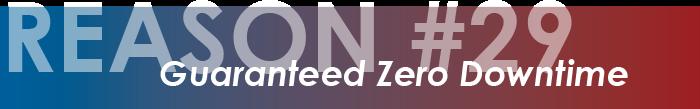 reason 29 zero downtime