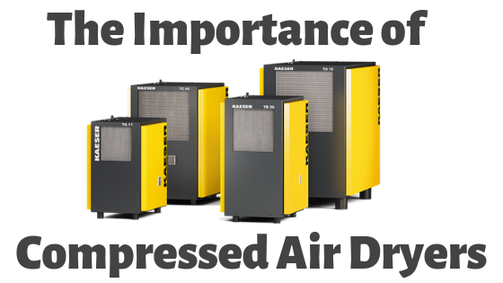 """The Importance of Compressed Air Dryers"""