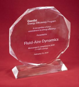 Fluid-Aire Dynamics Recognized as #1 in ComEd Leak Repair